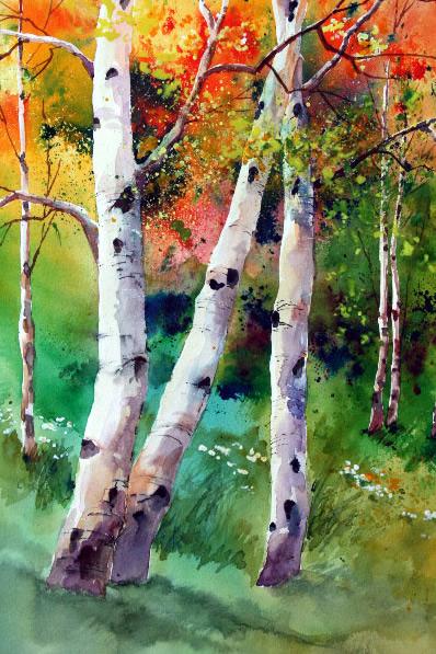 Fall Aspen, Gayle MacDougall