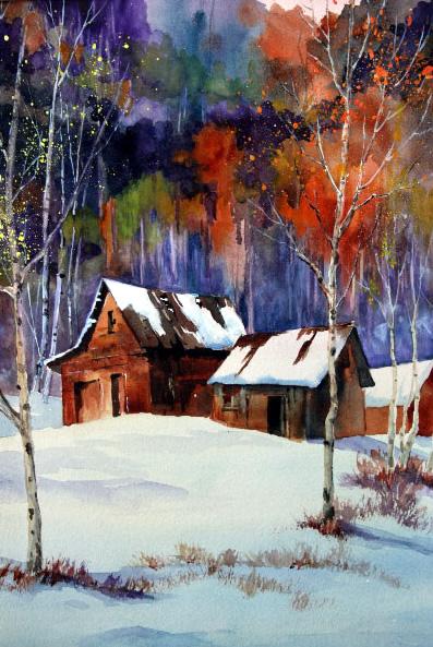 Winter Scene, Gayle MacDougall